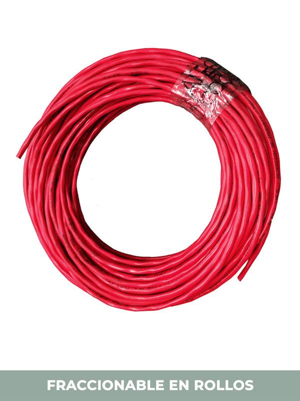 rollo cable rojo instrumentacion electronica incendios